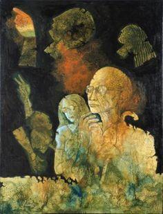 Artist:  DEBABRATA CHAKRABARTY Title:  CALCUTTA KOLKATA Medium:  ACRYLIC ON CANVAS Size:  92X123 CM Exhibition:  50th Annual Exhibition, 2017 Price:  1,00,000/-