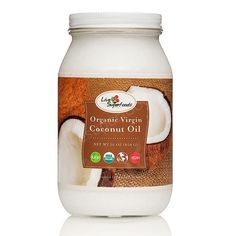 Raw Coconut Oil:  anti-viral/anti-bacterial,  anti-parasitic,  improves digestion and absorption,  relieves symptoms of Crohn's disease,  anti-inflammatory,  tissue healing and repair,  enhances immune function