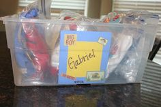 Life With Both Hands Full: Organizing Your Child's Memorabilia