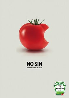 Red Heinz Tomato Ketchup Ad