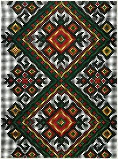 ru / Фото - 155 Symbols of Ancient Ukrainian Stitching - thabiti Cross Stitch Borders, Cross Stitch Flowers, Cross Stitch Designs, Cross Stitch Charts, Cross Stitch Patterns, Folk Embroidery, Cross Stitch Embroidery, Embroidery Patterns, Beading Patterns