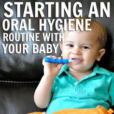 Oral Hygiene Routine With Your Baby#DentistGrantsville