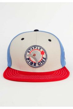 Staple Clothing Grey Jay Snapback Hat - Red $32.00