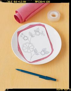 tanother tutorial for transferring image to ceramic plate