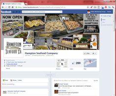 Hampton Seafood Company – Facebook Fan page Timeline