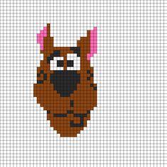 Scooby Doo perler bead pattern