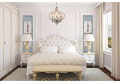 Come arredare casa, camera da letto stile classico, armadio grande ...