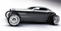 Audi Gentleman´s Racer by Mikael Lugnegård, via Behance