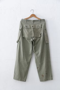 USMC M-44 HBT pants | unplugged
