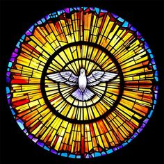 When Saint Mary's Catholic Church in Sanger, California needed stained glass they chose Stained Glass Inc. Stained Glass Inc. custom designed a beautiful rose window that fit perfectly into their church. Stained Glass Tattoo, Stained Glass Paint, Stained Glass Patterns, Stained Glass Church, Stained Glass Windows, L'art Du Vitrail, Rose Window, Saint Esprit, Beginner Painting