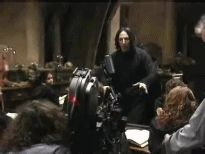 """"""" Making of…""""Harry Potter""""… Scenes from """"Harry Potter and the Prisoner of Azkaban"""", """"Harry Potter and the Half-Blood Prince"""", """"Harry Potter and the Deathly Hallows – Part """"Harry. Snape Harry Potter, Professor Severus Snape, Harry Potter Severus Snape, Harry Potter Actors, Severus Rogue, Alan Rickman Severus Snape, Harry Potter Theme, Harry Potter Fandom, Harry Potter Universal"""