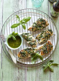 zoldpestosfokhagymasgrillcsirkemell Yummy Food, Delicious Recipes, Healthy, Home Decor, Blog, Decoration Home, Delicious Food, Room Decor, Blogging