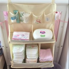 Hanging Bedside Diaper Storage Bag Baby Crib Nursing Bottle Toy Organizer Wardrobe Closet Accessories Supplies-in Storage Bags from Home & Garden on Aliexpress.com | Alibaba Group