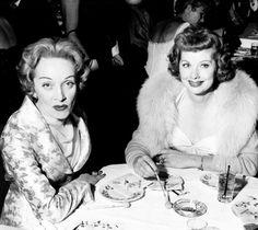 Lucille Ball And Marlene Dietrich #photos, #bestofpinterest, #greatshots, https://facebook.com/apps/application.php?id=106186096099420