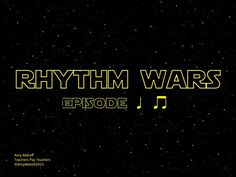 Music a la Abbott - Amy Abbott - Kodály Inspired Blog and Teachers Music Education Resource: Rhythm Wars