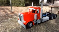 Video: Peterbilt 379 LEGO Replica | CDLLife