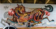 Austrian street artist Nychos is truly one of the greats of the #streetart movement. Be sure to read this profile and interview.