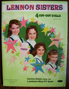 The Lennon Sisters Paper Dolls