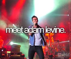 Meet Adam Levine and the rest of Maroon 5<3