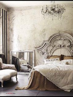 #shabby #chicness #bedroom #interiordesign