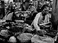 Pedagang bubur Madura Di pasar Blauran