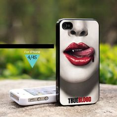 True Blood Lips - For iPhone 4 / 4s Case | onlinecustomshop - Accessories on ArtFire