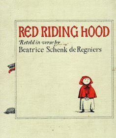 Edward Gorey - Red Riding Hood. New York: Atheneum, 1972.