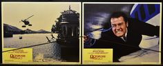 Octopussy Roger Moore James Bond (1983) 007 Movie Orig Lobby Card set of 8 | eBay