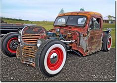 When Rust Is Cool: 30 Insane Rat Rod Photos | Car Accessories Blog