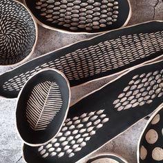 """Jarjour Pottery on Instagram: """"I can't stop making them😱 #carved #porcelaine #handmadeceramics #homewares #homeinspiration #homeliving #homeaccent #homedecore…"""""""