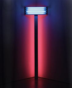 More Dan Flavin, I think these are very sexual without being overt. The idea can be applied in a similar way architecturally