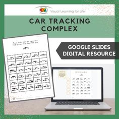 This digitally interactive resource is designed for use with Google Slides. This resource contains 20 slides in total. Answer sheets are included.The student must find all the cars that look the same as the example at the top of the page, and drag the orange circles to mark the correct answers.