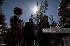 Pope Francis leads the Palm Sunday Procession and Mass in St. Peter's Square on April 9, 2017 in Vatican City, Vatican. Pope Francis condemned the terror attack on a Coptic church in the city of Tanta, north of Cairo, which killed upward of two dozen people and injured nearly 60 others