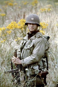 SAVING PRIVATE RYAN ~ Tom Hanks  one of my all time favorite movies