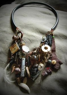 Stéphanie Brouwers, 2014. Urban Shaman Talisman Collection Necklace by vLaDtHeBaT on Etsy