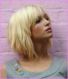 awesome Choppy bob hairstyles with bangs