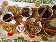 The indian spices to be incorporated in the food...Follow me for truly inspiring ideas on an elegant wedding in Fiji.