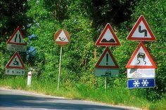 Road signs fun