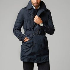 Fancy - Quilted Raincoat by Massimo Dutti