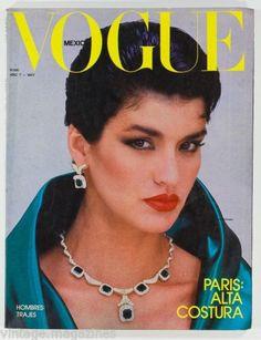 Janice Dickinson  -  Vogue Mexico 1980's