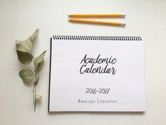 Academic Calendar 16-17 – Free Download