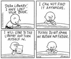O cão que comeu o livro...: Charlie Brown e a máfia das bibliotecas / Charlie Brown and the Library Mafia
