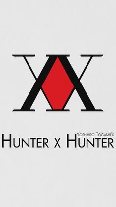 Wallpaper - Hunter x Hunter One of the best Anime I have seen it& soooooo EPIC and fun. Hisoka, Killua, Hunter X Hunter, Hunter Logo, Hunter Anime, Anime Tattoos, Tatoos, Manga Anime, Anime Art