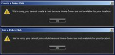 Create and Join a poker club Poker Stars home games are not available in Netherlands
