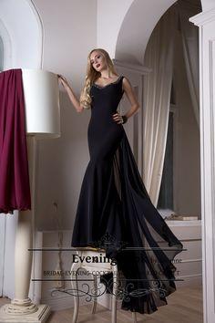 Prom long dress Quinn. be like a quinn werring this black sexy dress. www.rochiielegantedelux.ro
