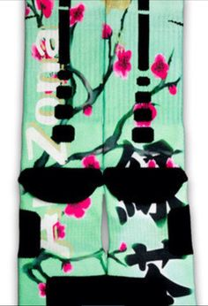 Arizona green tea custom nike elite socks