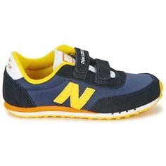 New Balance 410 Kid's Navy Yellow Ke410