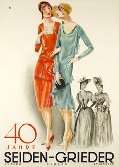 40 years anniversary of the Seiden-Grieder fashion store