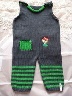 Baby-Strampler Pirat von MANA-Strickdesign auf DaWanda.com