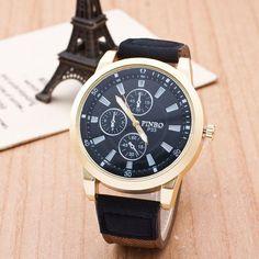 Neuer Mann Jeans Bügel Uhr Militäruhren Quarzuhr Reloj Hombre Männer Kleiden Armbanduhren Relogio